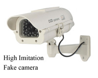 High Imitation WIFI HD 720P Fake Mini Wireless IP Camera Solar Panel CCTV Camera Remote Web