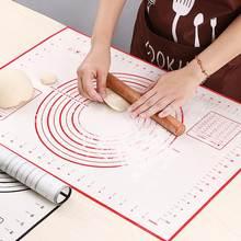 Многоразовый силиконовый коврик для выпечки антипригарный духовки