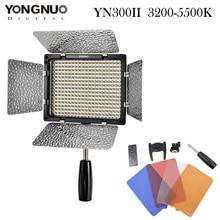 YONGNUO YN300 II LED Video Light 300 LED Lamp Lights Photographic Lighting 3200-5500K for Photo Studio DSLR Camera Camcorder