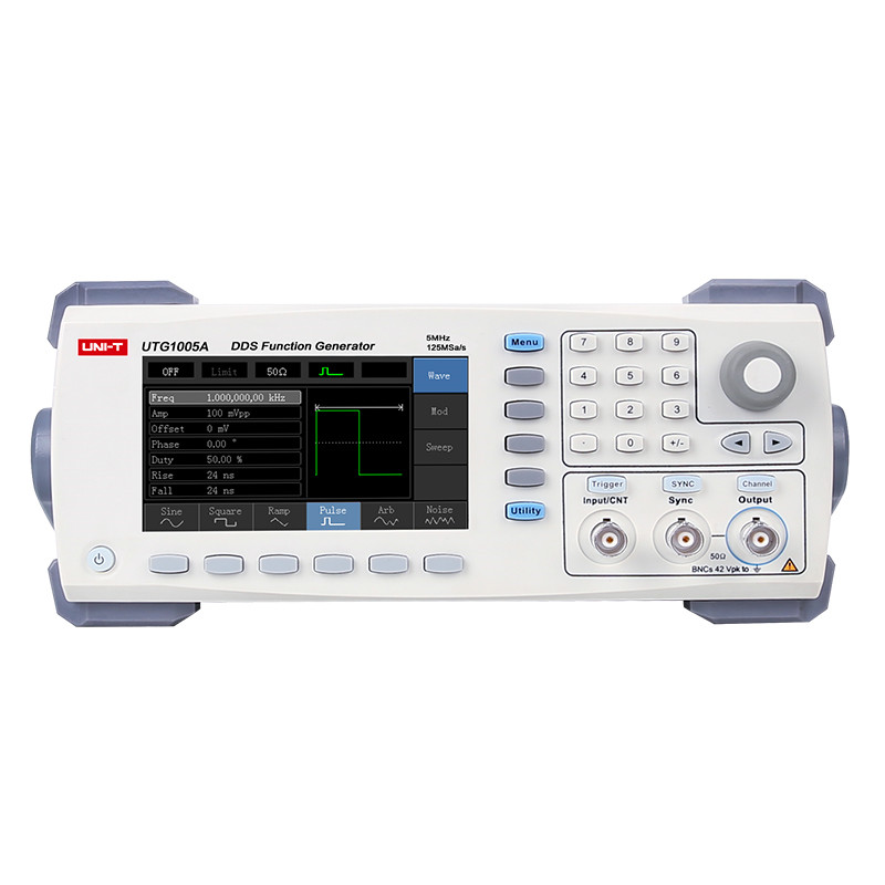 UNI-T UTG1005A High Sensitivity Digital Function/Arbitrary Waveform Generator 1 channel 5MHz Bandwidth 125MS/s Sampling Rate uni t utg9005a 5mhz dds universal waveform signal function generator