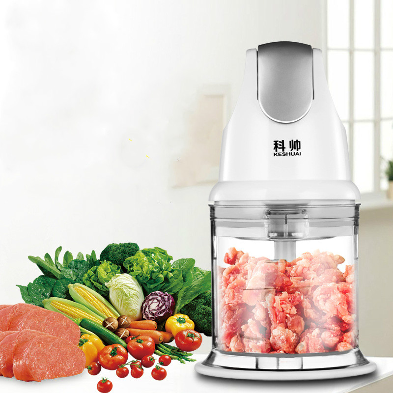 Portable Electric Blenders Meat Grinders Mini Baby Snack Machine Baby Food Electric Meat Cutter bear portable electric meat grinders 2l 300w 2 gears glass mini blenders 4 blades copper engine meat cutter kitchen appliances