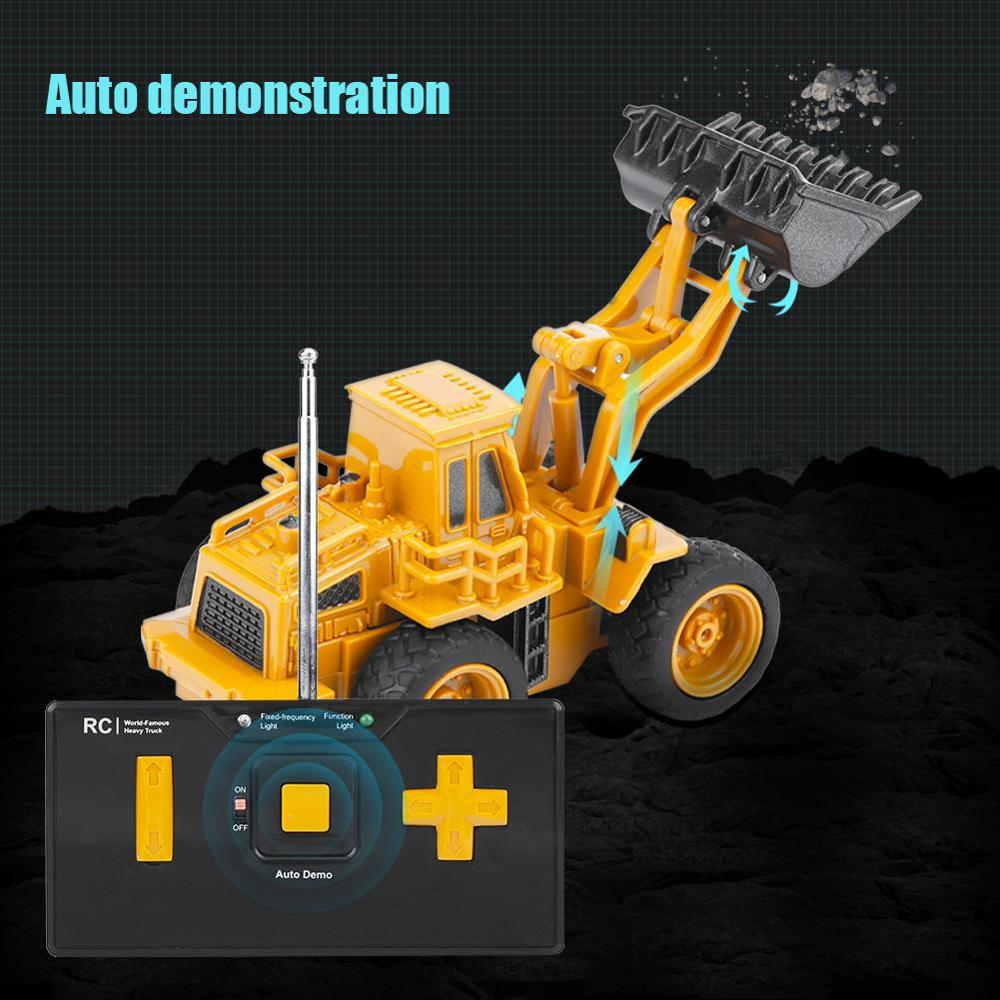 New Abs Material Rc Construction Toys Dump Truck Crane