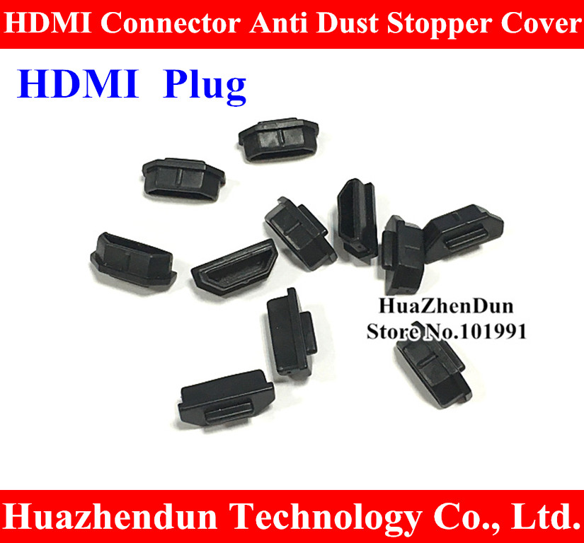 High Quality NEW Black HDMI Connector Anti Dust Stopper Cover for Laptop Desktop PC TV high quality desktop motherboard for 580