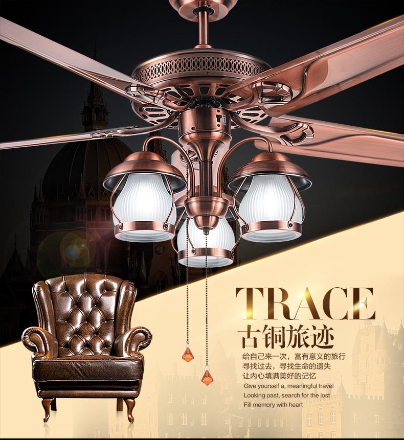 Amerikanskt rustikt vardagsrum tak ljuskrona fläkt ljus restaurang - Inomhusbelysning