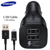 100 Samsung Original Double USB USB Car Charger Note7 5 4 2 S7 6 4 Mobile