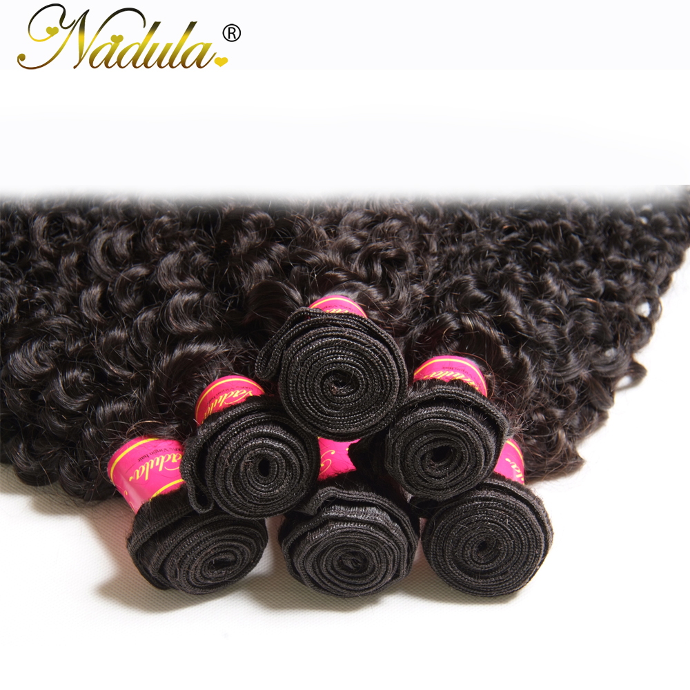 Nadula Hair  Kinky Curly  Hair  Bundles 100g/pcs Products 100%  s 8-26INCH Can Be Mixed 5