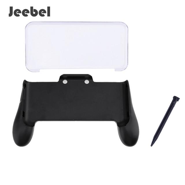 US $11 88 |Aliexpress com : Buy Jeebel Nintend NEW 2DS XL Hand Grip Crystal  Case Plastic Pen 3in1 Anti Scratch Material Nintend New 2DS XL Pen Case