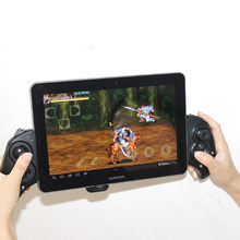 Wholesale Wireless Bluetooth Version 3.0 Gamepad with Telescopic Stand for 5-10 Inch Phones Game Controller for Android IOS Phone Pad