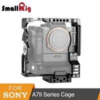 SmallRig a7rii a7sii Камера клетка для sony A7II/A7SII/A7RII клетка с Arri розетки 2 предмета Quick Release Plate 2031