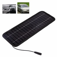 Smart Multi Portable Solar Panel Battery Charger 12V 5W Car Charger Solar Cells For Car Boat