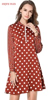 High Quality 10 OFF Chest 96 126 Cm Casual New Autumn 2017 Polka Dot Dress Women