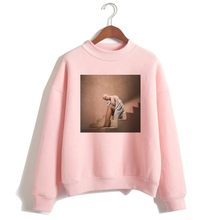 Women Cartoon Print Harajuku God Is A Woman Sweatshirts Pullover Warm Tops Ariana Grande Sweatshirt No Tears Left To Cry Hoodie(China)