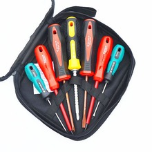 Insulated Screwdriver Set 7/ 9 Piece Electric Slotted Cross Non-slip Insulated  Detachable Explosion-proof Manual Screwdriver