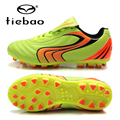TIEBAO Professional Soccer Shoes AG Soles Football Boots Boys Girls Soccer Cleats EU 30-37 Training Sneakers For Kids Botas