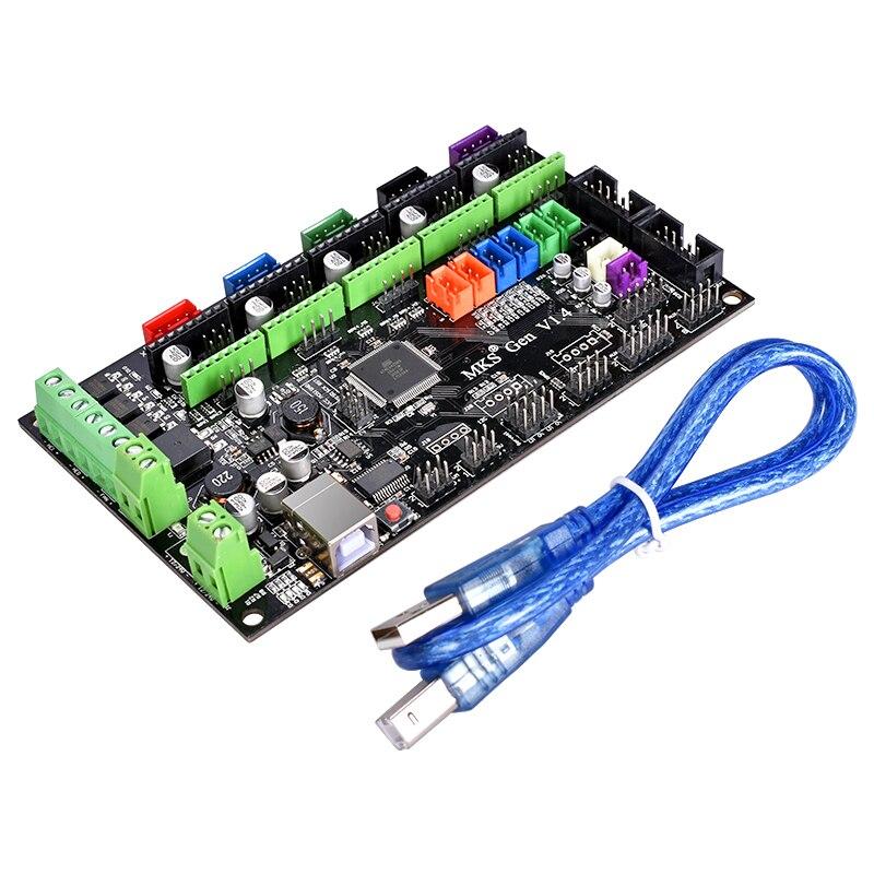 de controle com 12864 display lcd tmc2130