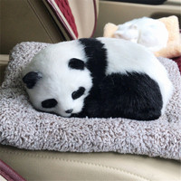 Fancytrader Cute Animals Cat Fox Dog Panda Lying on Blanket Toys Purify Air Cars Decoration Doll 20x14cm 11Models