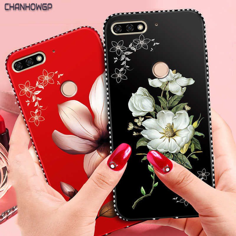 3D Relief Case for Huawei P20 P10 P9 P8 Lite 2017 Mini P Smart Y5 Y6 Prime Y7 Y9 2018 Nova 2i Honor 6A 6C 7C 7A Pro 8 9 10 Lite