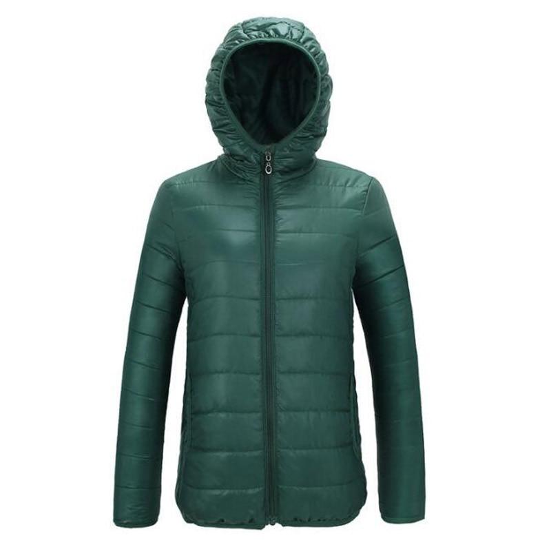 2018 Winter   Jacket   Women Hooded Coat Female   Jacket   Women Padded Cotton Parkas Autumn Casual Thin Light   Basic     Jackets
