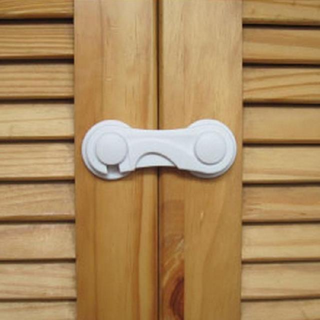 Baby Kids Child Safety Drawer Cupboard Box Fridge Cabinet Door Lock Secure  Latch For Toddler Infant