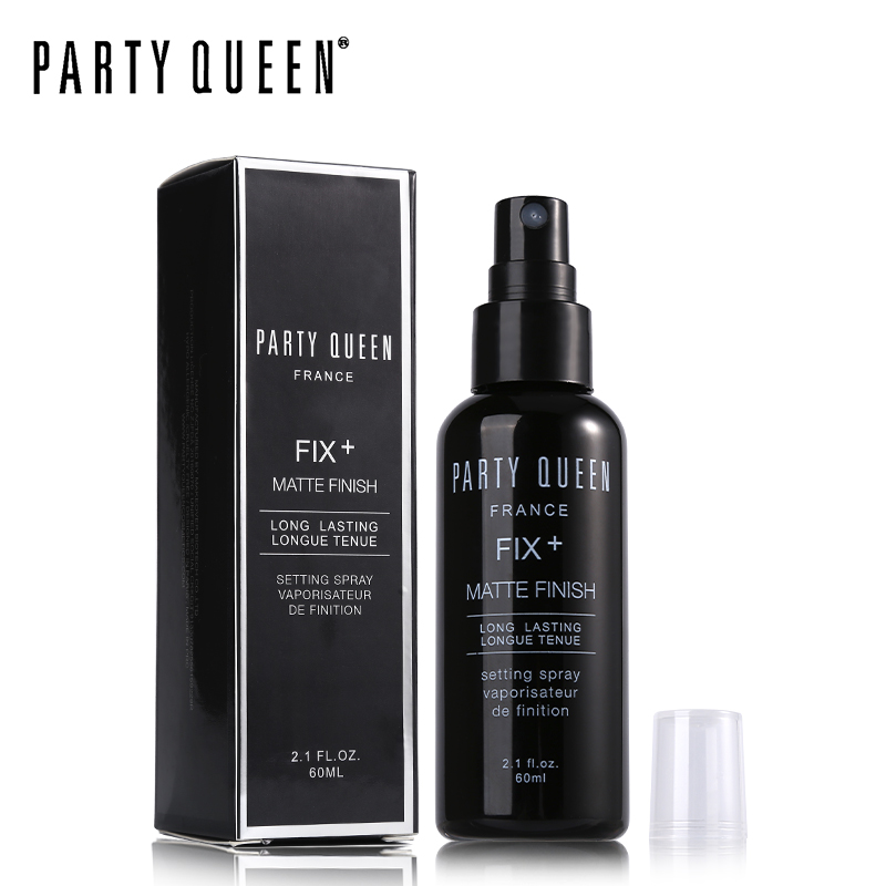 Party Queen Makeup Setting Spray 60ml Lightweight Long Lasting Fix Matte Finish Quick-drying Mist Lock In Makeup Soft & Fresh image