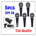 5pcs wholesale Top quality SM 58LC Free shipping vocal Karaoke microfone dynamic wired handheld microphone SM 58