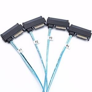 Image 5 - Кабели sas sata, внешние интерьерные мини разъемы SAS HD to (4), внешние разъемы с интерфейсом SAS 15, внешний кабель 12