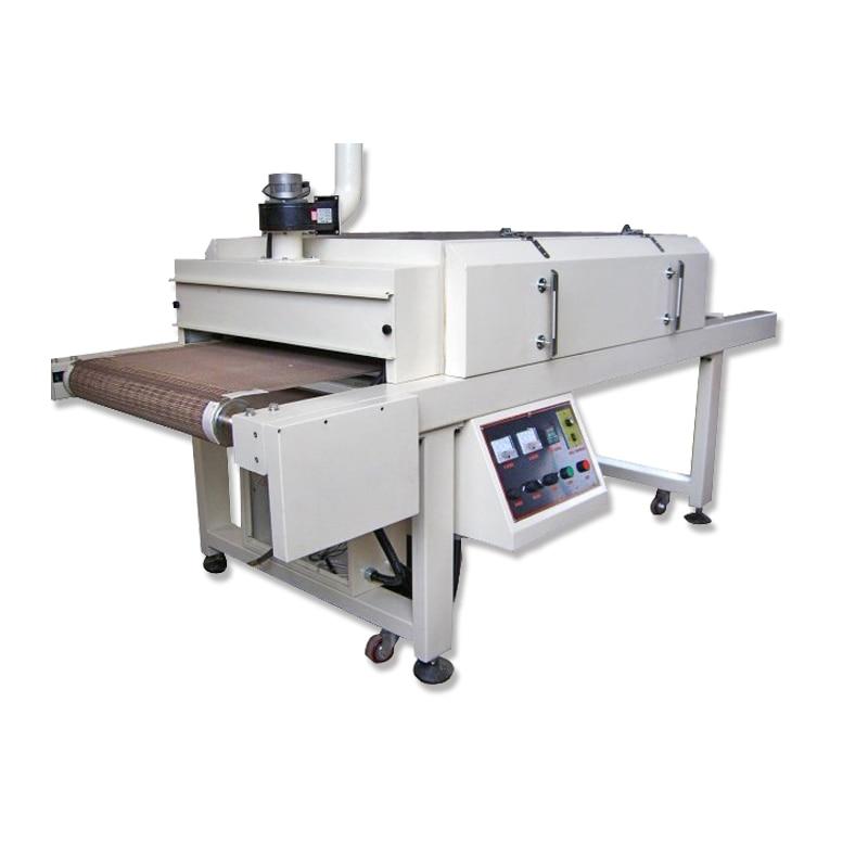 Screen Printing Far Infrared Conveyor Belt Dryer Length