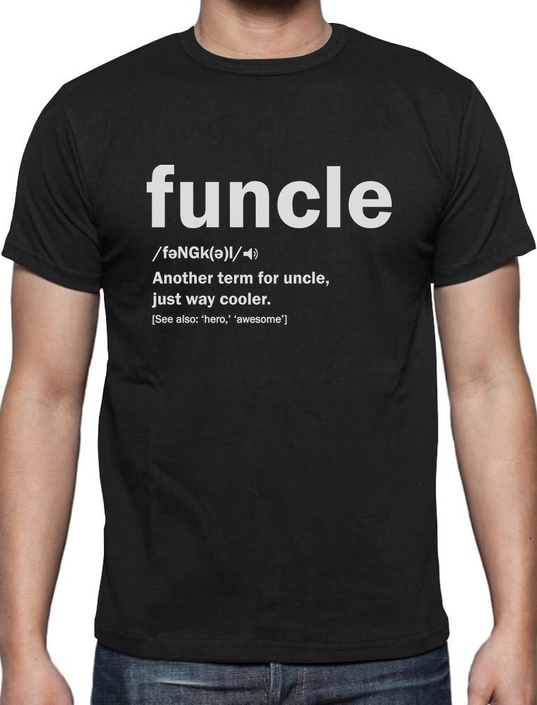 New-fashion-camisetas-hombre-Funny-Uncle