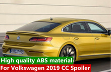 Original style For  CC Spoiler High Quality ABS Material Car Rear Wing Primer Color Spoiler For  CC Spoiler 2019 for mazda cx 5 spoiler high quality abs material car rear wing primer color rear spoiler for mazda cx 5 spoiler 2013 2017