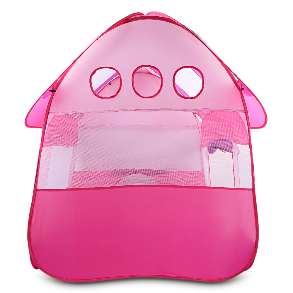 Portable Foldable Kids Toy Tent Game House for Baby Play Boy Girl Princess Castle Indoor Outdoor Kids House Play Ball Playhouse