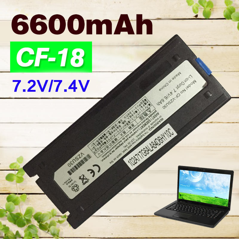 6600mAh Laptop battery for Panasonic ToughBook CF-18 CF-18D CF-VZSU30 CF-VZSU30A CF-VZSU30AU CF-VZSU30B CF-VZSU30BU CF-VZSU30W стоимость