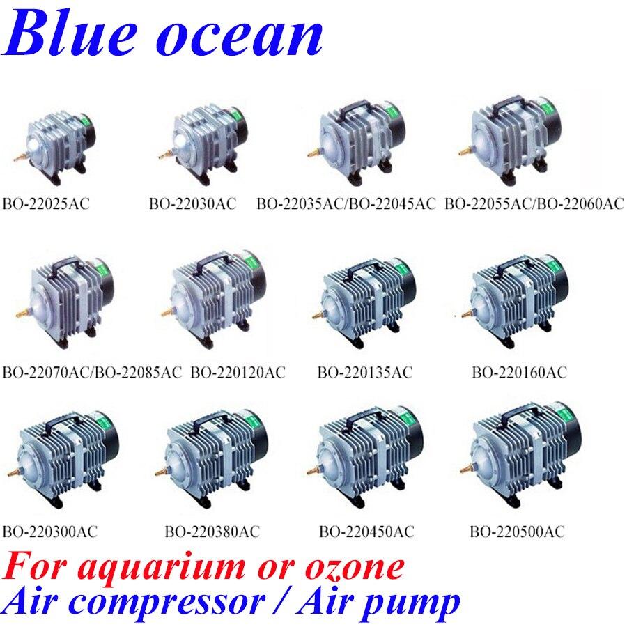 BO-22025AC, livraison gratuite AC220V compresseur d'air électromagnétique générateur d'ozone pièces pompe à air aquiculture aérateur oxygénation