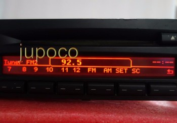 Free Shipping Original LCD Display for BMW CD73 PROFESSIONAL RADIO CD PLAYER E90 E91 E92 PIXEL