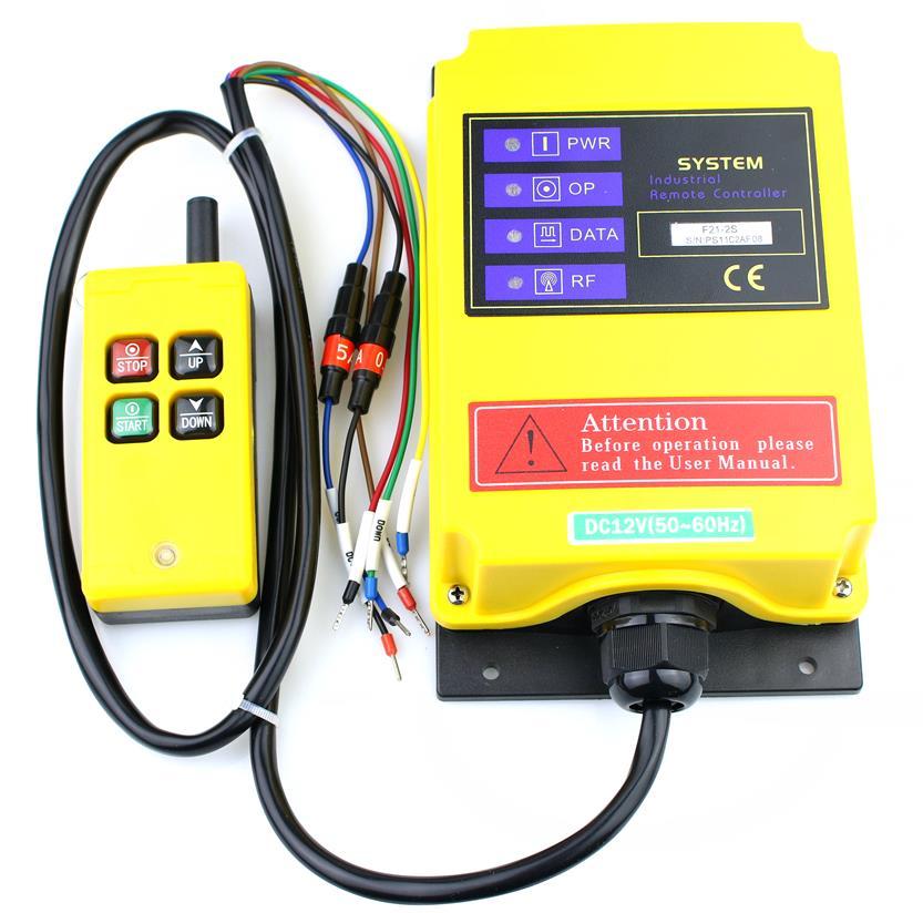Telecontrol F21 2S industrial nice radio remote control AC DC universal wireless control for crane 1transmitter