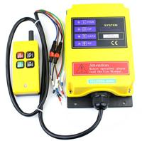 Telecontrol F21 2S industrial nice radio remote control AC/DC universal wireless control for crane 1transmitter and 1receiver