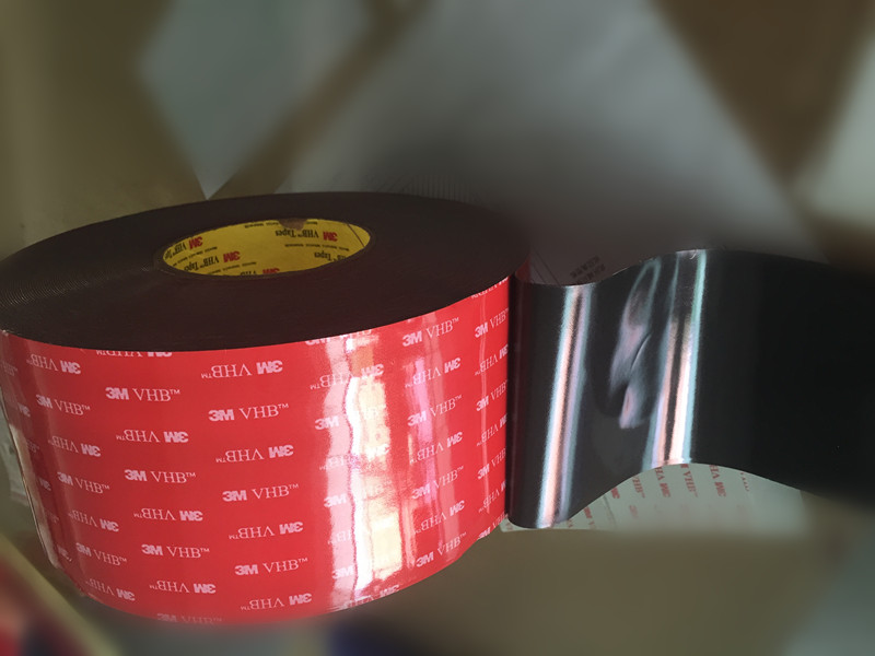 Free Shipping 24mmx33m 3M VHB 5952 Grey Acrylic Double Sided Foam Tape недорго, оригинальная цена