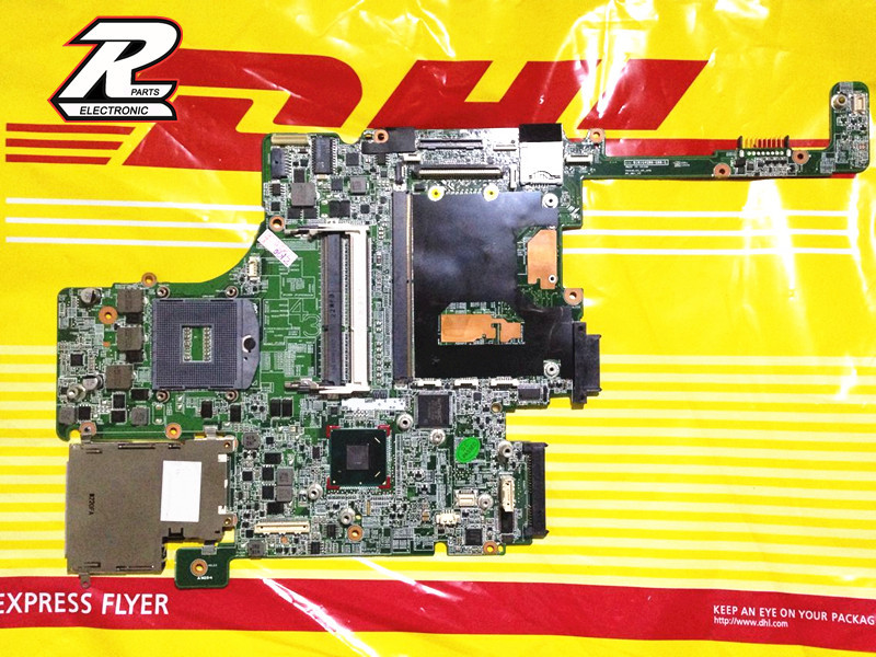 FOR HP EliteBook 8560P 8560w DDR3 Notebook Motherboard 652638-001 system Board professional Wholesale