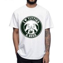 I love titties & beer men's shirt