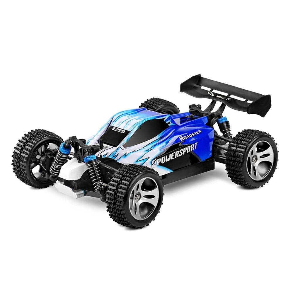 Voiture RC A959 4WD 2.4G 50 KM/H haute vitesse voiture de course escalade voiture télécommandée voiture électrique RC véhicule tout-terrain jouet 1:18 RC dérive