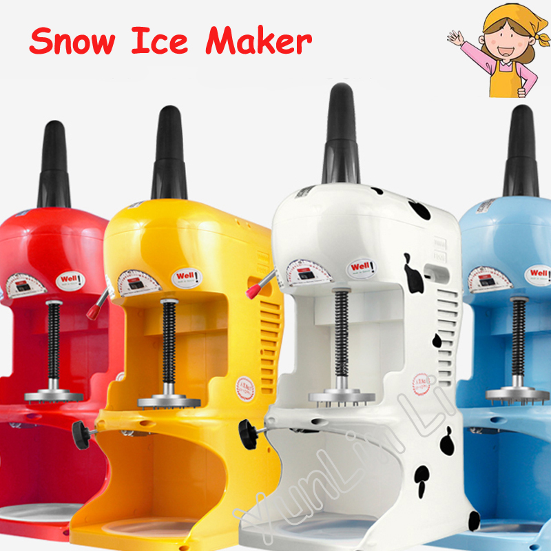 Ice Crusher Commercial Snow Ice Maker Shaving Machine Automatic Snow Ice Shaver Block Shaving Machine Easy Operate Ice Crusher ice crusher snow ice shaving machine easy operation high quality home use summer ice food making machine ice crushing machine zf