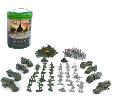 ( 210PCS ) Nostalgic toys World War II soldier military toys kit Action Figures military Army Men Play set