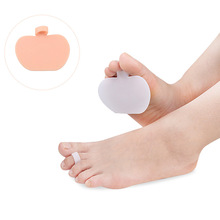 1 Pair Silicone Foot Insoles Forefoot Pain Relief Massaging Gel Metatarsal Toe