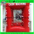 High Quality inflatable cash cube tent,inflatable cash tornado machine,promotion events money machine