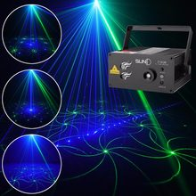 SUNY Laser Light GB 18 Patterns Z18GB Blue LED Stage DJ Home Party Show Karaoke Club Bar Colorful Professional Christmas Music(China)