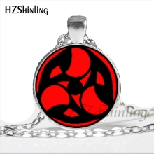 Naruto Uchiha Sharingan Eye Chain Necklaces (17 styles)