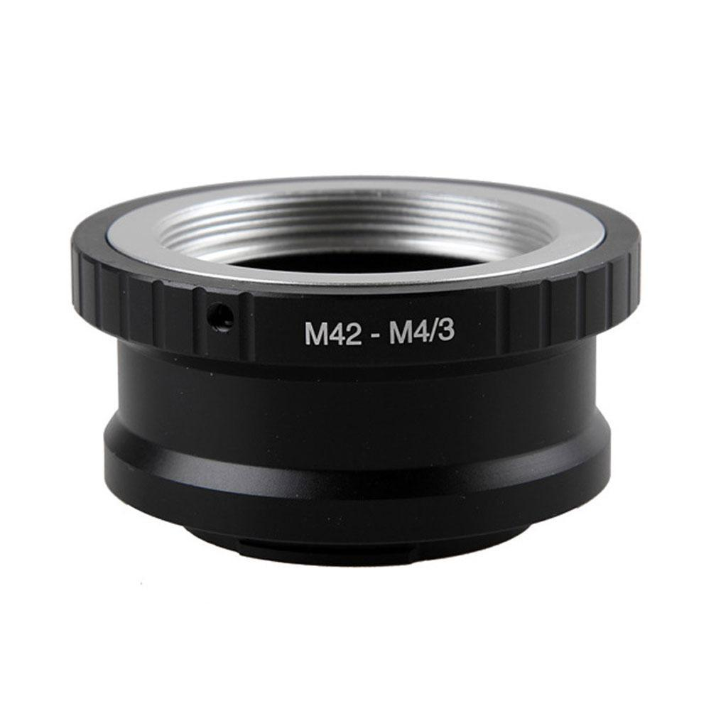 Lens Adapter Ring M42-M43 for Takumar M42 Lens and Micro 4/3 M4/3 Mount Camera Accessories image