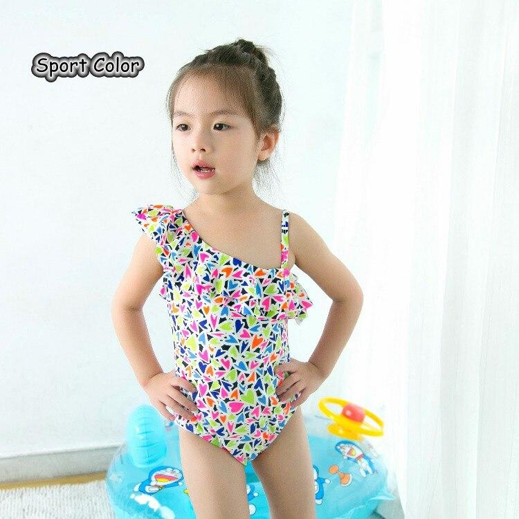 Qualidade Adolescentes Swimwear One-pieces Adorável Doce Infantil