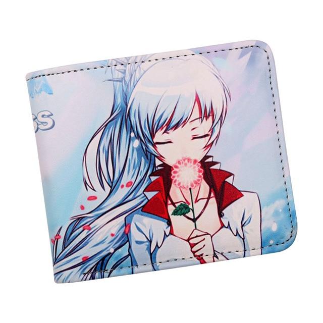 RWBY Anime Characters ID and Card Bi-Fold Wallet
