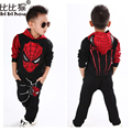2-7 Years Old Kids Boys Clothes Clothing Sets Sport Suit Spider Man Cosplay Costume Kids Sweatshirt + Pants Hoodie Set Clothing