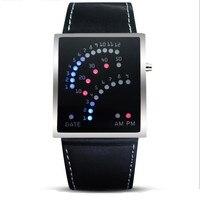 Panel LED Marki męska Sport Cyfrowy Zegarek Wodoodporny Zewnątrz Samolot Zegarek Relogio Masculino Reloj Mujer Zegar Prezent